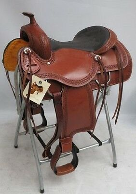 "16"" Circle S Pleasure Style Saddle 040"