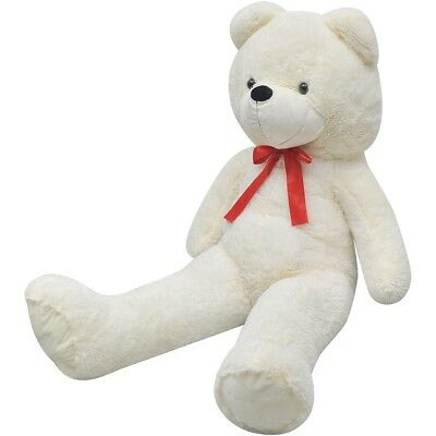 #Giant Cute White Soft Plush Teddy Bear Huge Doll Toy Cotton 100cm Gift Present