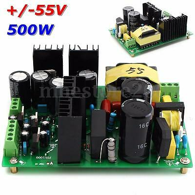 NEW 500W amplifier switching power supply board dual-voltage PSU +/-55V
