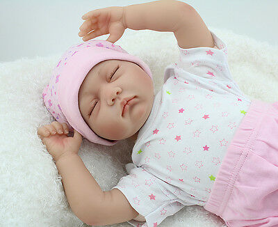 "22"" Reborn Baby Doll Realistic Newborn Doll Baby Playmate Birthday Gifts"