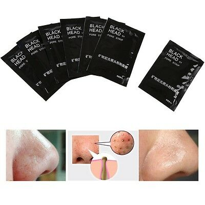 7Pcs/Set Nose Blackhead Pore Spots Cleaner Cleansing Mineral Mud Removal Strips