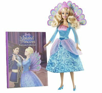 Mattel T7596 Barbie as the Island Princess Book and Doll Gift Set