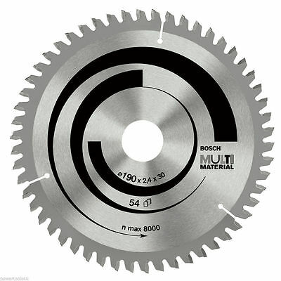 Bosch 216mm x 30mm x 60 Teeth Multi Material Circular Saw Blade 2608640446