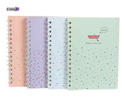 1pc Korean Cute Thicken Hardcover Notebook Drawing Diary Book Blank Journal