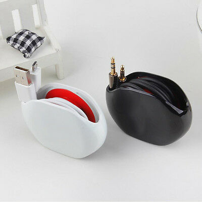 Automatic Headphone Earphone USB Cable Cord Wire Line Organizer Winder Wrap Nue