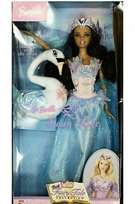 Mattel Barbie Swan Lake Odette doll and the swan by