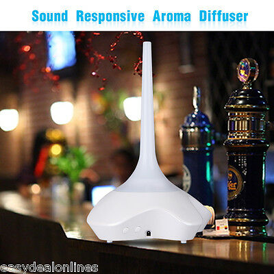 LED Ultrasonic Air Humidifier Essential Oil Diffuser Aromatherapy Atominizer NEW