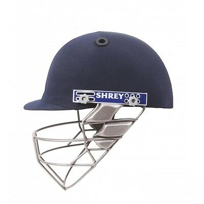 Shrey Pro Guard Stainless Steel Cricket Helmet + Adjustable Grille + Free Ship