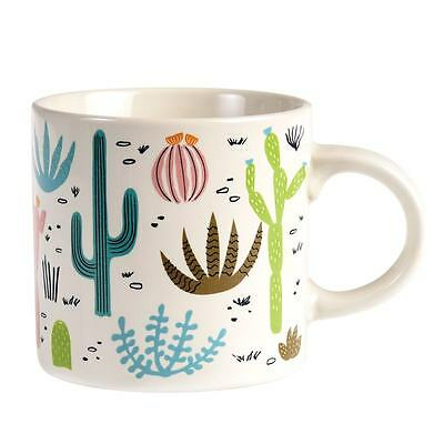 dotcomgiftshop DESERT IN BLOOM CERAMIC MUG