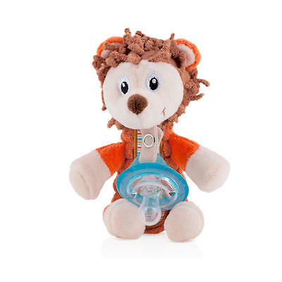 Nuby Snoozies Pacifier Pal Pacifier Pocket - Fox