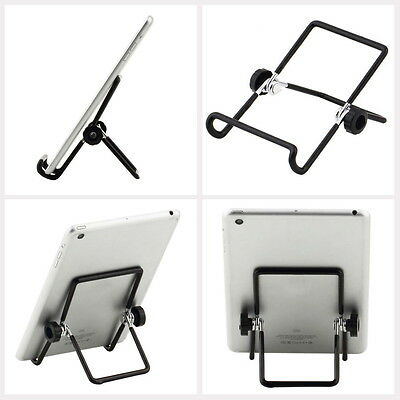 Universal Metal Adjustable Foldable Tablet PC Stand Holder for 7 inch Tablet PC#