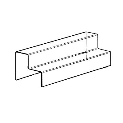 Set Of 2 Nesting Plinth Riser Product Two Step Stand Acrylic Countertop Display