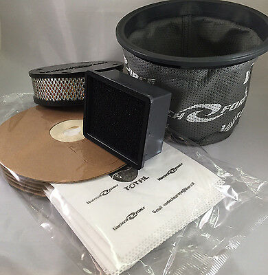 Vortech Force Bags and Filter Bundle. To fit XR3000 and Vacuum Tech models