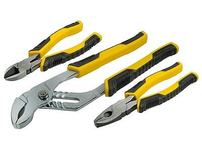 Stanley STA074471 Control Grip Plier Set of 3 STHT0-74471 New
