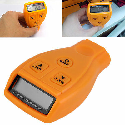 Digital Automotive Coating Ultrasonic Paint Iron Thickness Gauge Meter Tool#Z