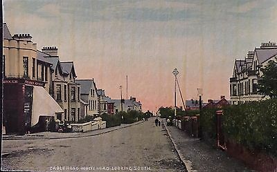 Cablehead Road Whitehead Co Antrim Postcard Northern Ireland W A Green Belfast
