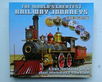 DVD The Worlds Greatest Railway Journeys 6 DVD Collection
