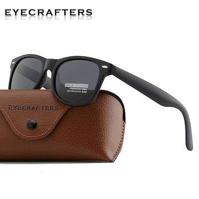 Retro Mens Womens Polarized Sunglasses Outdoor Vintage Fashion Mirrored Eyewear