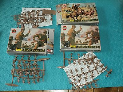 3 Boxes Of Airfix Soldiers 1/72 Scale