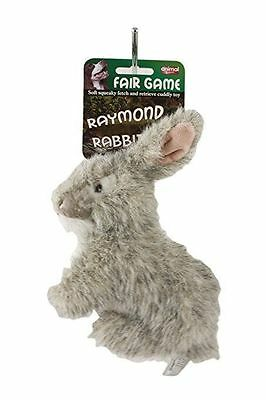 Animal Instincts Plush Soft Dog Chew Toy Raymond Rabbit Large