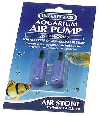 Interpet Aqua Air Stones Fish Tank Aquarium 14mm x 25mm