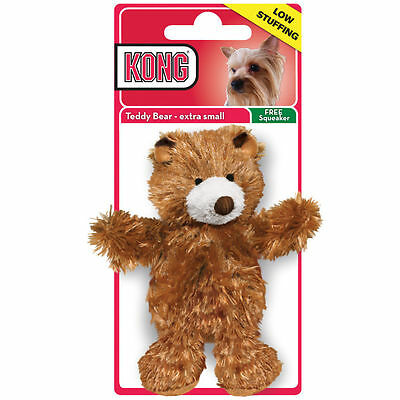 Kong Dr Noys Dog Toy Squeaky teddy bear & replacement squeaker X Small