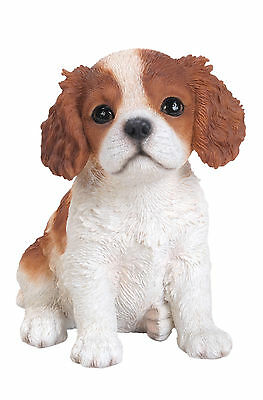 Vivid Arts - PET PALS PUPPY DOG & KENNEL BOX - King Charles Spaniel