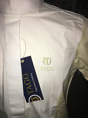 New Tagg Monroe Kids Show Shirt Champagne Small- Clearance!!