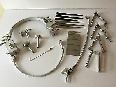 Mizuho Sugita Head Frame Retractor Instruments, Basal Head Frame, Hand Rests..
