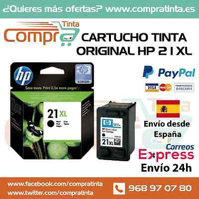 Cartucho Tinta Original Hp 21Xl Negro C9351Ce