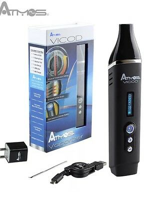 ATMOS VICOD  BEST PORTABLE DRY HERB  // Available In Black Only