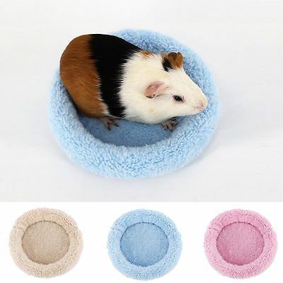 Guinea Pig Bed Winter Small Animal Cage Mat Hamster Hedgehog Sleeping House S-L