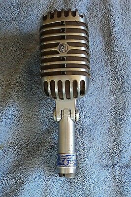 Rare Classic Shure 55S Early Version Blue Label, Working