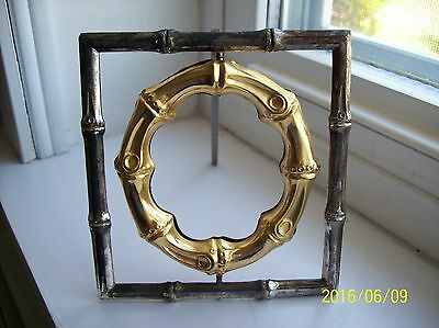 Very Collectible Metal Picture Frame, Two Sided, Rotates, Very Different