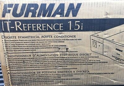 New FURMAN IT-Reference 15i Discrete Symmetrical Power Conditioner