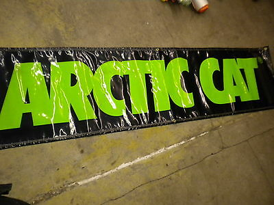 Arctic Cat 4943 067 Banner Poster dealer advertising sign Man Cave