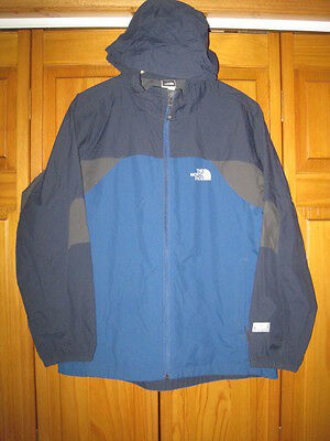 The North Face Hydrenalite windbreaker jacket kids boys XL blue hiking camping