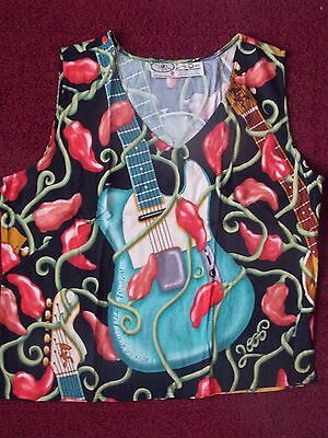 2005 New Orleans Jazz Fest Ladies Ex-Large Camisole Blouse - New - Never Worn