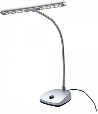 König & Meyer LED Piano lamp - Silver New ideal for Grand Piano, Piano, Piano