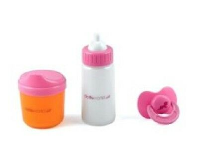 Brand New Dollsworld Baby Magic Milk Bottle Sippy Cup Dummy Doll Pretend Play