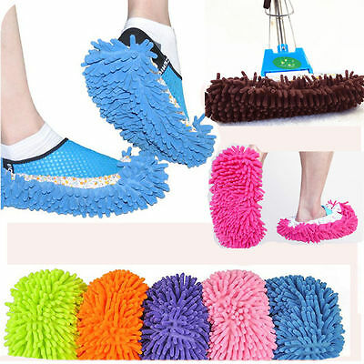 Mops Lazy Dusting Cleaning Foot Cleaner Shoe Mop Slipper Floor Polishing Cover