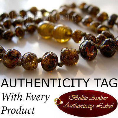 Earth Honey BALTIC AMBER Baby Child NECKLACE AGbA® Certified