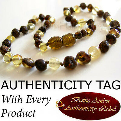 """Gorgeous """"Lemon Green"""" BALTIC AMBER NECKLACE Baby Child"""