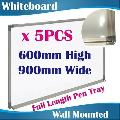 5PCS 600mmx900mm Office Magnetic Whiteboards Whiteboard White Board