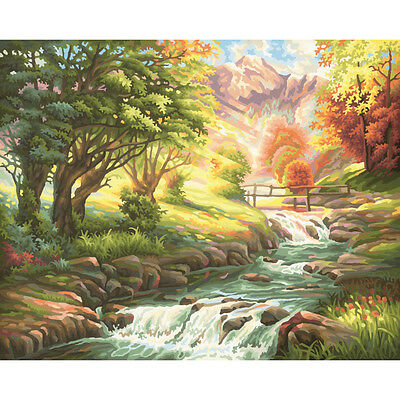 Schipper painting by numbers Most Trout Stream Coloring page Adults 40 x 50 cm