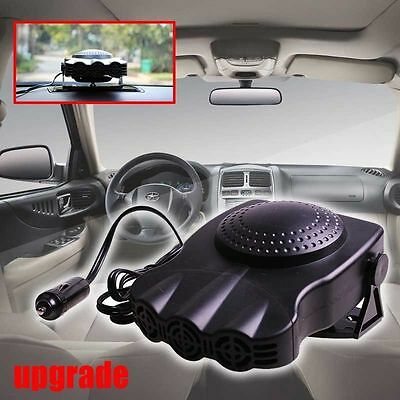 New Style 12V 150W Portable Car Heating Cooling Fan Heater Defroster Demister RF