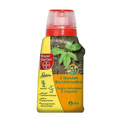 Bayer 3 Hours Bio wees free 500ml - Weed Free Moss Algae Giersch Herbicide