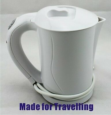 Electric portable travelling kettle for international travellers/businessman