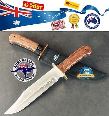 Winchester Razor Sharp Hunting Survival Camping Military Outdoor Knife Huge
