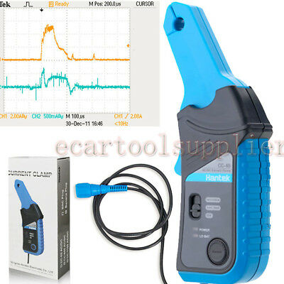 Hantek Oscilloscope Multimeter AC/DC Current Clamp CC65 Up to 20kHz 20mA to 65A